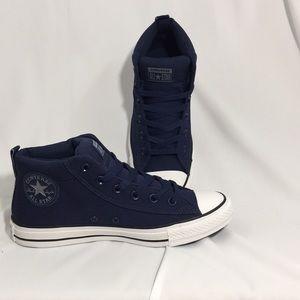 0f30759db3c6 Converse Shoes - Converse midnight navy cool grey Ctas street mid